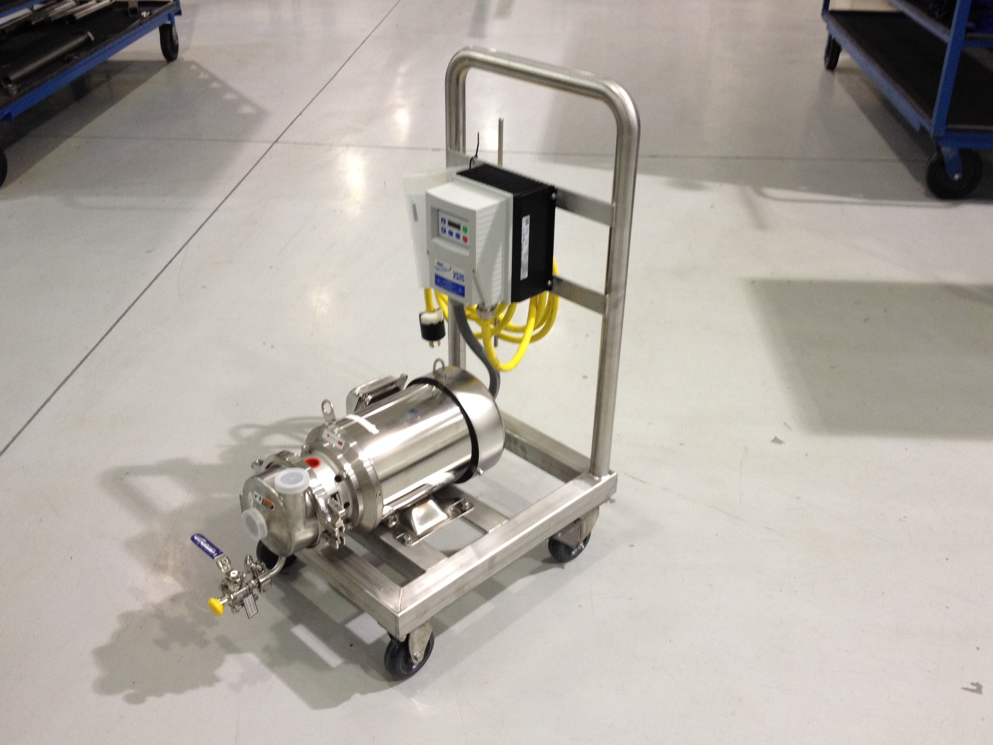 Centrifugal Pump Cart